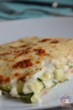 #Parmigiana di zucchine e prosciutto #ricetta