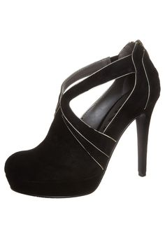 FELICE MARY JANE - High heeled ankle boots - black