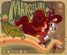 Marceline, the Vampire Queen. Glen Brogan / www.albinoraven.com