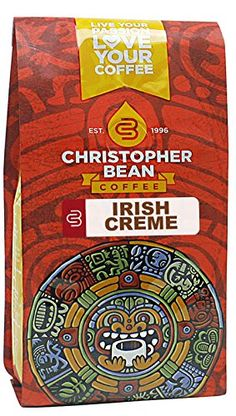 Christopher Bean Coffee Flavored Decaffeinated Ground Coffee, Irish Creme, 12 Ounce * Additional details at the pin image, click it  : Fresh Groceries