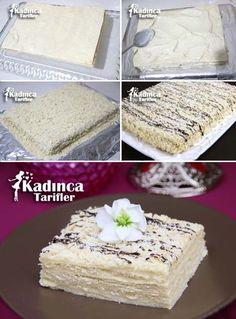 Beyaz Pasta Tarifi Kadincatarifler.com - En Nefis Yemek Tarifleri Sitesi - Oktay Usta