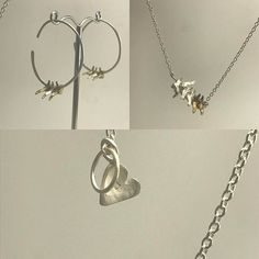 Amuleto jewels simple refined what's not to love? All handmade with love by Dilma Morais - amuletodesigns.com Contemporary Jewellery, Jewels, Love, Simple, Silver, Handmade, Instagram, Charms, Amor