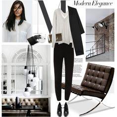 """Modern Elegance"" by bellamarie on Polyvore"
