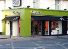 Image result for green shop front