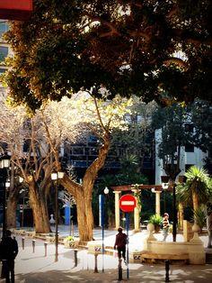 Alicante. Plaza de Gabriel Miró