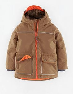 993232b5 Mini Parka Mini Boden, Boden Uk, Girl Back, Boys Coats, Windbreaker,