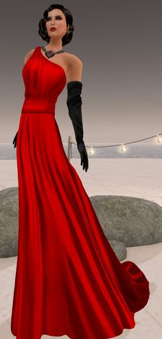 Paloma in Red by [AMARELO MANGA] – Haute Collection https://anouklefavre.wordpress.com/tag/bliss-couture/