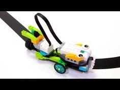 WeDo LINE TRACER : LEGO WeDo - YouTube