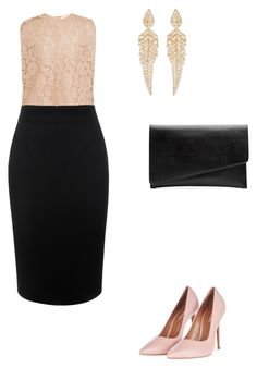 """""""Untitled #329"""" by elma-alibasic ❤ liked on Polyvore featuring Valentino, Alexander McQueen, Topshop, Witchery and Stephen Webster"""