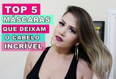TOP 5 MÁSCARAS QUE DEIXAM OS CABELOS INCRIVEIS EM MINUTOS