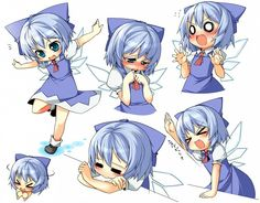the many faces of Cirno Oriental, Cute Anime Pics, Old Games, The Old Days, Cultura Pop, Sword Art Online, Vocaloid, Cute Girls, Chibi