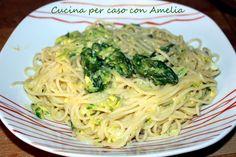 Carbonara di asparagi, ricetta vegetariana