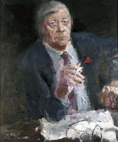 "Bernhard Heisig - ""Helmut Schmidt"", 1986"