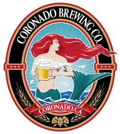 Love Coronado Brewing Company's new logo.