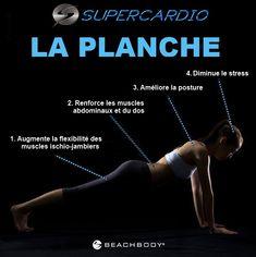 La planche : excellent exercice! SuperCardio.ca