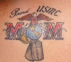 Marine Corps Tattoos | Sgt. Grit.. Love this!