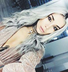 Alina Ceusan gray hair Hair Inspo, Hair Inspiration, Fashion Beauty, Hair Cuts, Hair Beauty, Hair Styles, Instagram Posts, Gray Hair, Virtual Closet