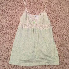 Eberjey camisole Eberjey camisole. New never worn. Tag is cut to prevent store return. Gorgeous green color soft material. Anthropologie Tops Camisoles
