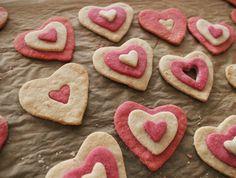 Gluten-Free Valentine's Sweetheart Sugar Cookies -  uses rice flour