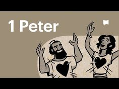 Watch our overview video on 1 Peter, which breaks down the literary design of the book and its flow of thought. Peter offers hope to persecuted Christians an. Jesus Bible, My Bible, Bible Art, Bible Verses, 1 Peter, Youtube, Christen, Christianity, Illustration