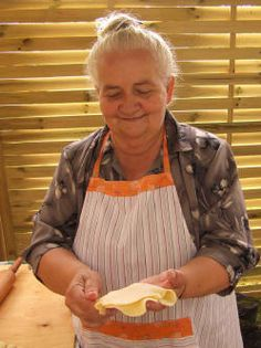 Ms Teresa Biziewska for many years selling her Pierogi Wigierskie in small town Wigry almost at the end of Poland... but once you try ones filled with Blueberries - you wish to comeback there every season... Recipe in her family is already for few generations and it's the most keep secret...