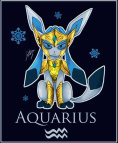 Aquarius Camus as a Pokemon by LindaDraven on DeviantArt