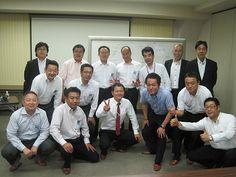 大阪市西区の老舗企業、大洋製器工業株式会社さんにて。