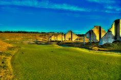 #Golf #Chambers Bay #USopen - Chambers Bay #18 - The Quarry