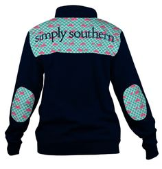 Long sleeve Zip Sweatshirt As pictured Simply Southern Tees Tops Sweatshirts & Hoodies Simply Southern Shirts, Preppy Southern, Southern Style, Southern Nights, Southern Charm, Southern Fashion, Southern Prep, Adrette Outfits, Preppy Outfits