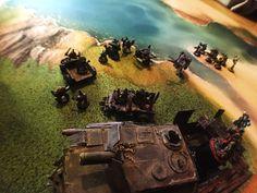 2 Mise en place d'un jeu sur le tapis carpeto #carpeto, #warhammer