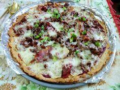 SPLENDID LOW-CARBING BY JENNIFER ELOFF: Pizza Crust A La Peggy Style