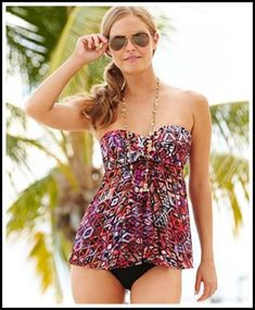 02e7b3c103c88 Stylish Swimsuits For Women Over 40. Tankini TopTankini ...