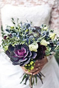 The unconventional trend of using fruits, vegetables and herbs in wedding…