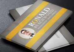 Youth Pastor Business Card Template