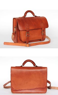 School satchel leather school bag 06 by BoutiqueFMR on Etsy