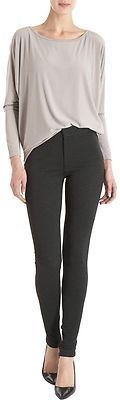 $89 Vince Ponte Legging Pants Size 2 XS Womens Charcoal New MSRP 225