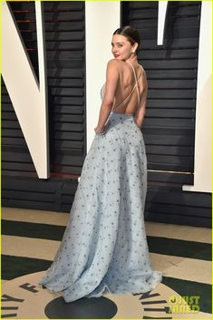 Miranda Kerr Twirls Into the Vanity Fair Oscars Party, Alessandra Ambrosio Stuns in Second Look