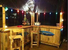 Custom Backyard Tiki Bar by EverytingAwesome on Etsy