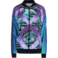 d9ec44873f5b Adidas X Mary Katrantzou Zip Sweatshirt (£88) ❤ liked on Polyvore