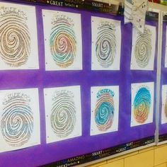 The Selfie Poems look awesome in the hallway! Thumb print template made this easy! Thank you to grade 8 teacher Barbara G., from Massachusetts USA for sharing them! #fun #poetry #secondaryela #middleschool #teacher #creative #writing #teachersfollowteache