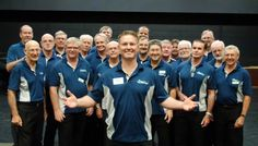 The Brisbane River City Clippers are an amazing barbershop group who have been singing since the early 1990s, starting as quartet and growing to over 30 members. They are credited with a national silver medal to their name and are set to compete at the annual state competition in June. Check them out here: http://www.westendmagazine.com/river-city-clippers-new-mus…/