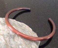 Copper Bracelet - BR004P Simple Bar Patina Copper Bracelet by CopperMillDesigns on Etsy https://www.etsy.com/listing/239220920/copper-bracelet-br004p-simple-bar-patina