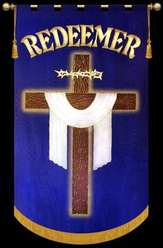 Redeemer - Christian Banners for Praise and Worship