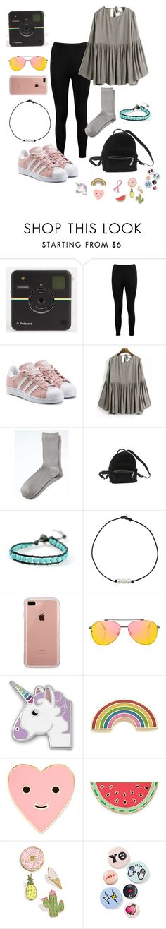 """Untitled #135"" by delaneyw07 on Polyvore featuring Boohoo, adidas Originals, Banana Republic, Urban Outfitters, Chan Luu, Belkin, Topshop, FOSSIL, Georgia Perry and ban.do"