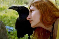 Me and my raven Kralya