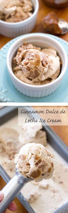 Cinnamon Dulce de Leche Ice Cream