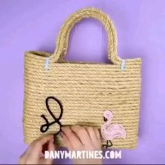 Diy Crafts For Home Decor, Diy Crafts Hacks, Diy Crafts For Gifts, Diy Arts And Crafts, Creative Crafts, Jute Crafts, Bottle Crafts, Diy For Kids, Handmade