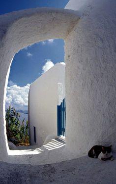 ~ Thirassia Island (Cyclades), Greece ~ by Markus A. Bissig ~