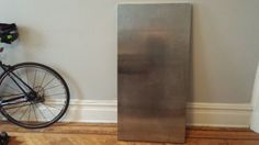 Stainless steel table top in Prospect Heights, Brooklyn ~ Apartment Therapy Classifieds