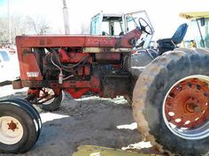 International 856 tractor salvaged for used parts. This unit is available at All States Ag Parts in Bridgeport, NE. Call 877-530-5010 parts. Unit ID#: EQ-23808. The photo depicts the equipment in the condition it arrived at our salvage yard. Parts shown may or may not still be available. http://www.TractorPartsASAP.com